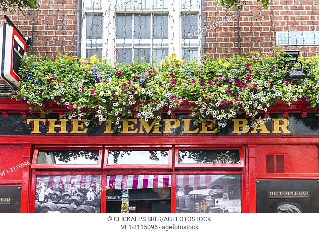 Republic of Ireland, Dublin, Temple Bar District, Temple bar