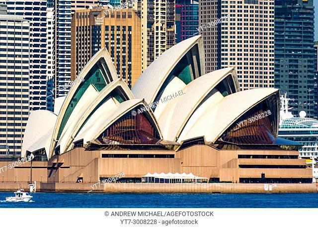 The iconic Sydney Opera House, Sydney, New South Wales, Australia