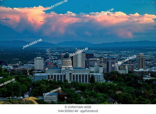 North America, American, USA, Great Basin, Utah, Salt Lake City, Capitol