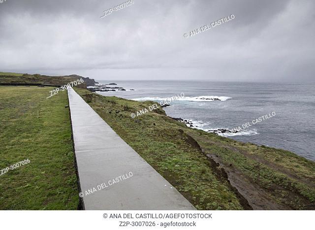 Seascape North of Sao Miguel island, Azores, Portugal