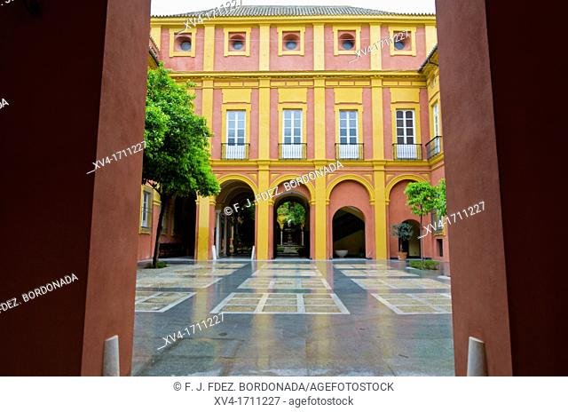 Archbishop's Palace, Seville, Andalusia, Spain, Europe