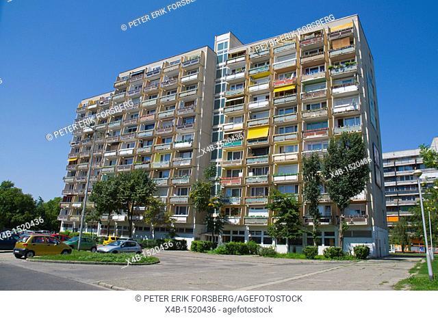 Residential block of flats Kecskemet Hungary Europe