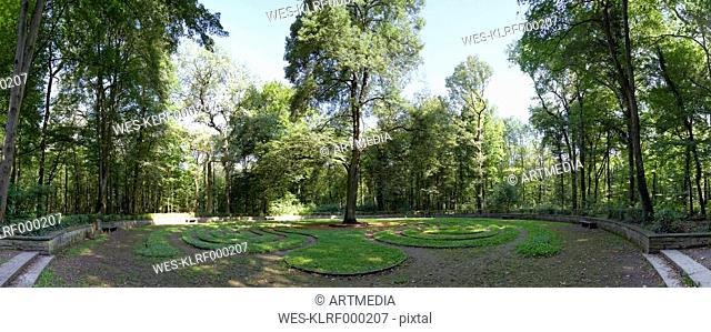 Germany, Lower Saxony, Hanover, labyrinth