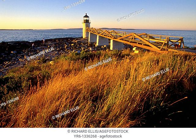 Marshall Point lighthouse Port Clyde Maine