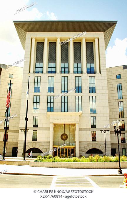 Court house, Boston, Massachusetts, USA