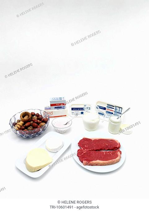 Foods High In Lipids Margarine Butter Lard Red Meat Nuts Dairy Products Cream Butter Cheese
