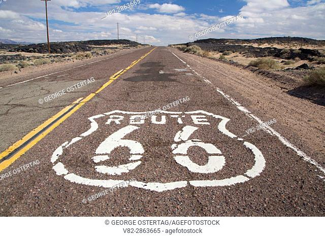 Historic Route 66, Mojave Trails National Monument, California