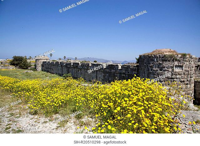 The Castle of the Knights in Kos, sometimes referred to as Kos Castle, was the one of the fortifications of the Knights Hospitallers of the Order of Saint John
