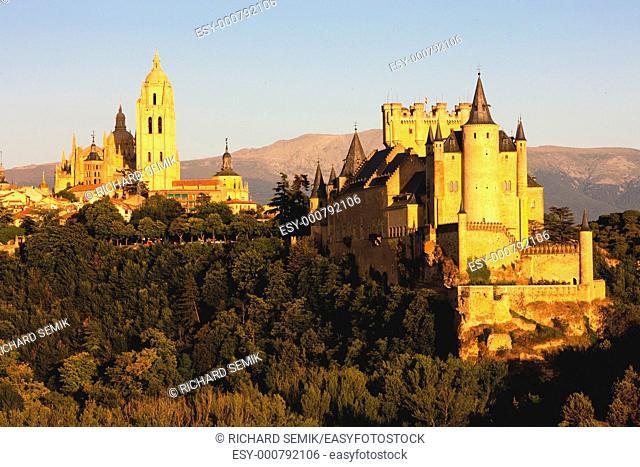 Segovia, Castile and Leon, Spain