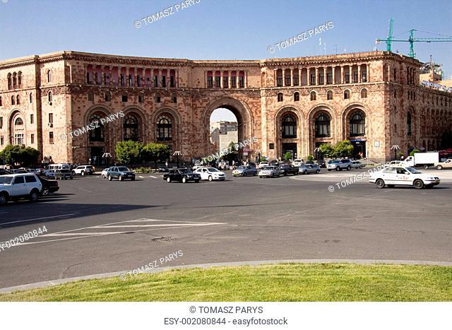 Centre of Yerevan