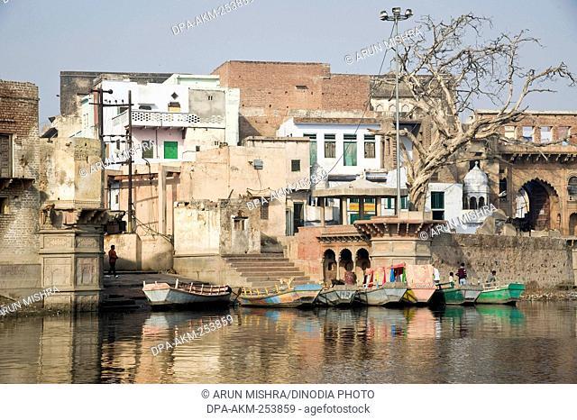 Vasudev ghat, mathura, uttar pradesh, india, asia