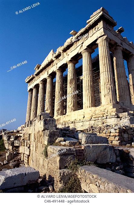 Parthenon, Acropolis. Athens, Greece