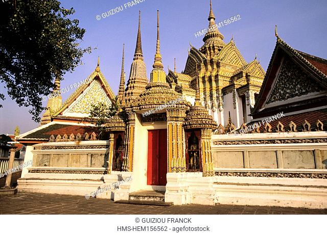 Thailand, Bangkok, the Wat Pho temple