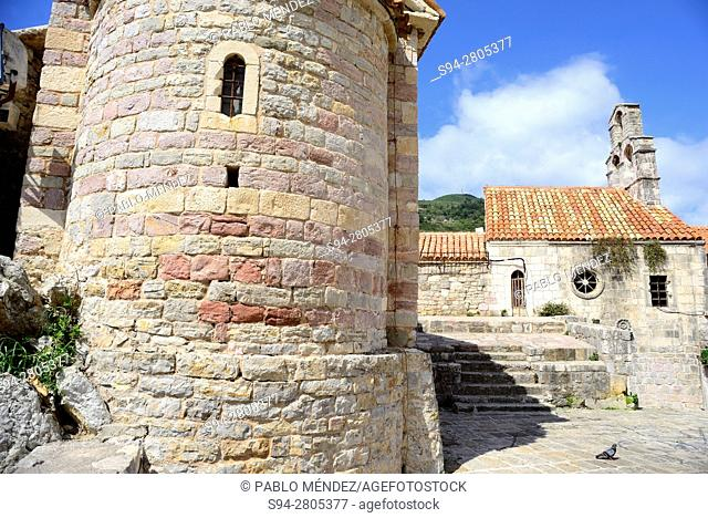 Church of Santa Maria in Punta of Budva, Montenegro
