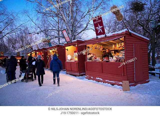 Skansens, Christmas Fair,Stockholm