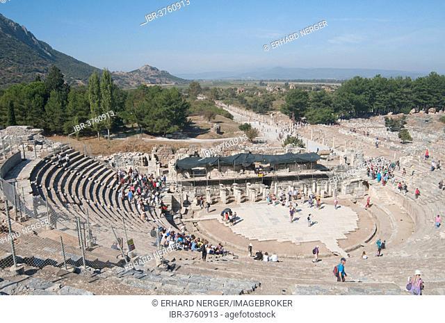 Great Theatre, Ephesus, Izmir Province, Aegean Region, Turkey