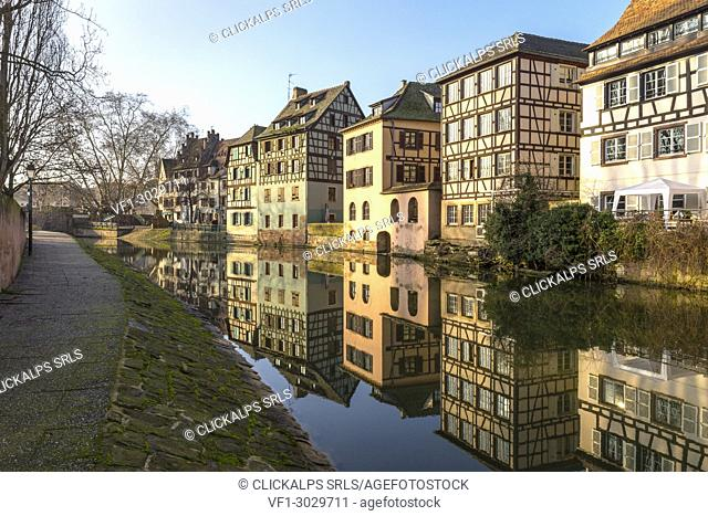 Petit France, Strasbourg district, Alsatian, Grand Est, Bas-Rhin, France