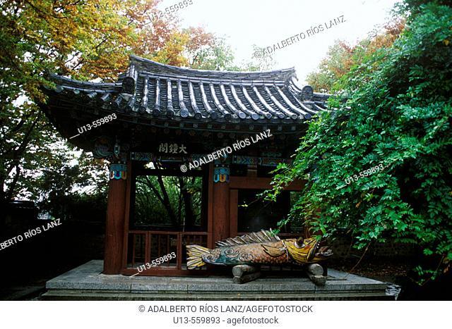 Buddhist Temple At Kyongju South Korea Asia