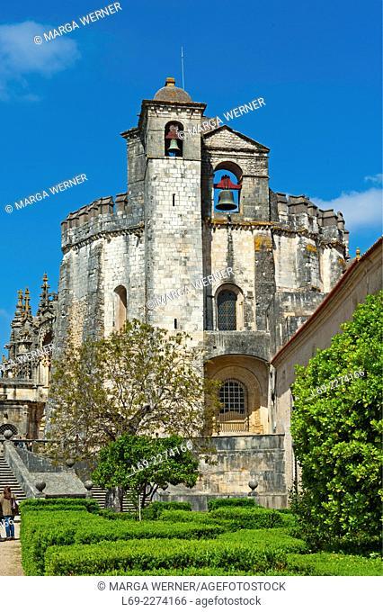 Templar Castle, Castelo dos Templários, Tomar, Santarém, Portugal, Europe