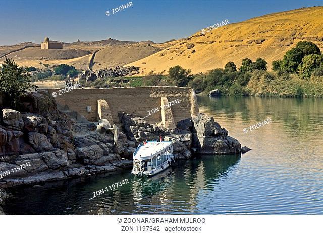 Egypt River Nile Lord Kitchener Island