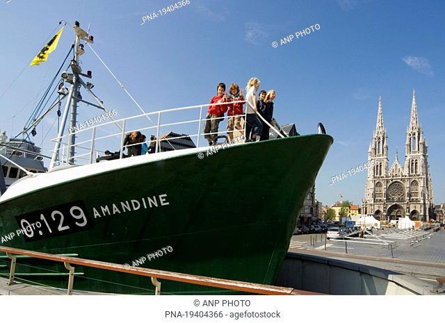 IJslandvaarder Amandine, Ostend, Brugse Ommeland, Flanders, Belgium, Europe