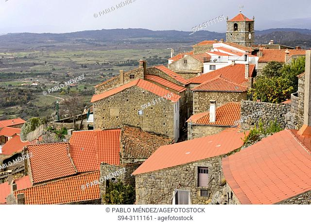 View of the rooves of Monsanto, Castelo Branco, Portugal