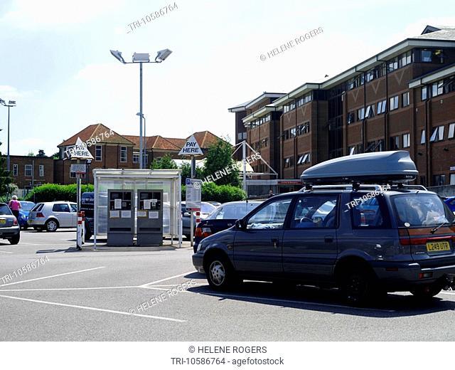 Epsom Hospital Car Park
