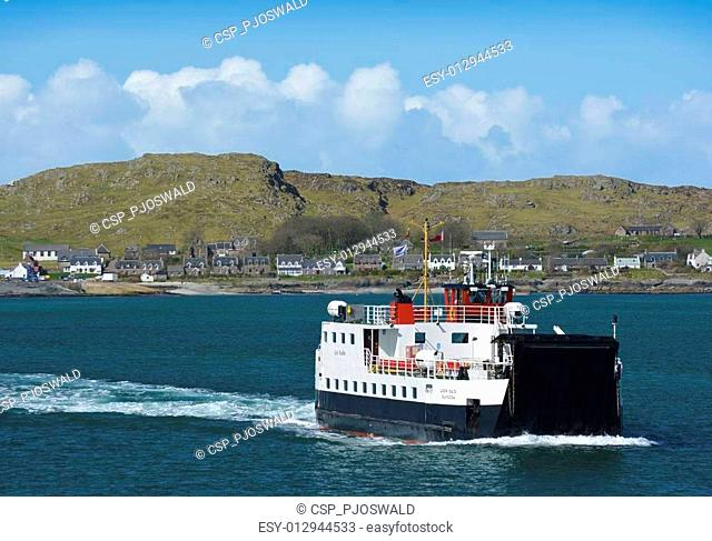 The Return Ferry From Iona