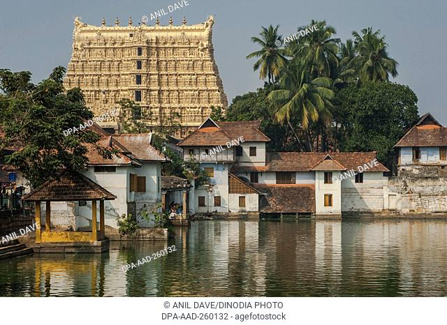 Padmanabhaswamy Temple, trivandrum, Kerala, India, Asia