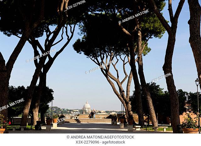 Giardino degli Aranci. Rome, Italy