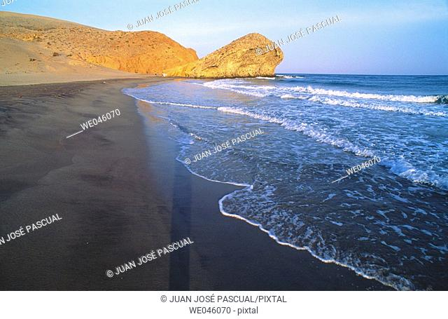 Monsul beach, Cabo de Gata. Almería province, Andalusia, Spain