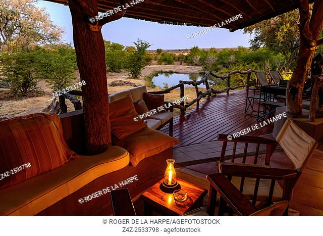Mashatu Main Camp. Mashatu Game Reserve. Northern Tuli Game Reserve. Botswana