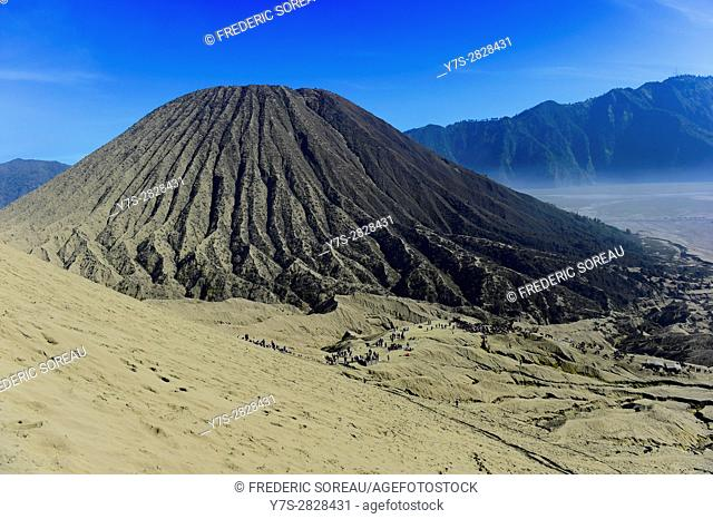 Mount Batok,volcano,Bromo-Tengger-Semeru National Park,East Java,Indonesia