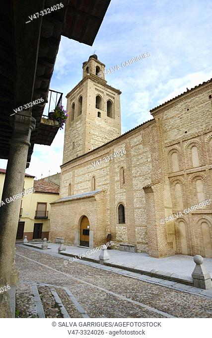 Plaza de la Vila de Arévalo, formerly, was the neuralgic center of the village, recently restored, retains in all its beauty the quiet of a Castilian square...