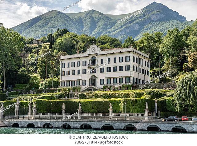 Villa Carlotta in Tremezzina at Lake Como, Lombardy, Italy