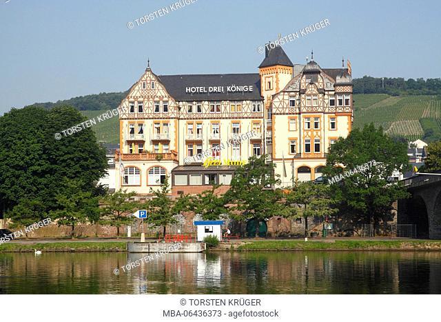 historical hotel 'Drei Könige', Bernkastel-Kues, Rhineland-Palatinate, Germany