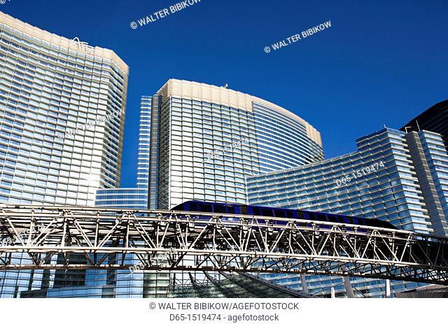 USA, Nevada, Las Vegas, CityCenter, Aria Hotel , morning