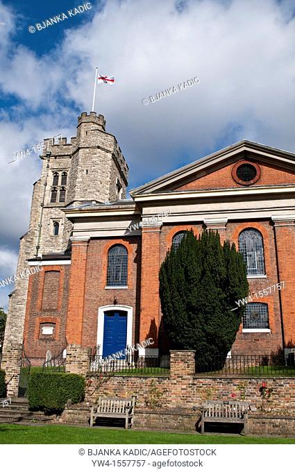 St Mary's, Parish Church, Twickenham, Middlesex, England, United Kingdom