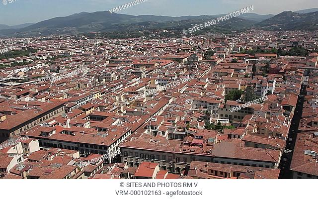 Exterior, HA, WA, PAN, daylight, view of the City of Florence