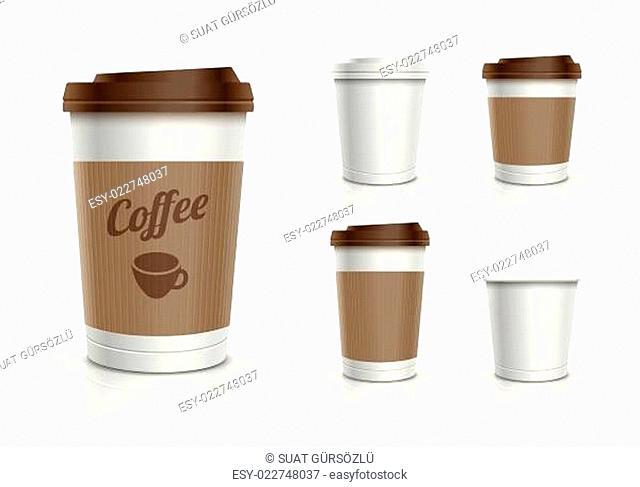 Disposable Cup Set