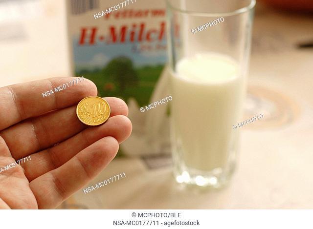 more money for milk