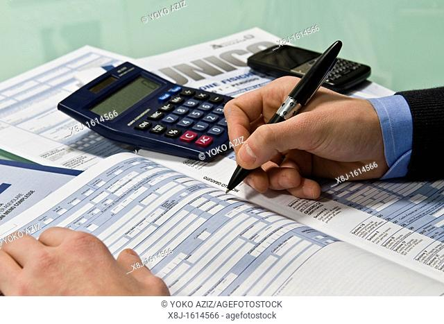 Compiling tax return