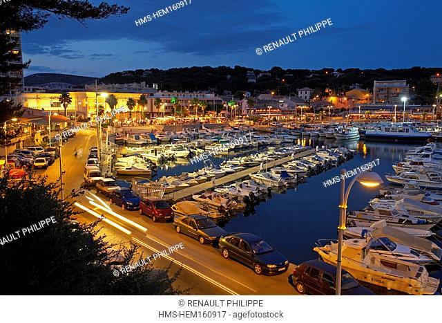 France, Bouches du Rhone, Provence, Cote Bleue Blue Coast, Carry le Rouet and its casino