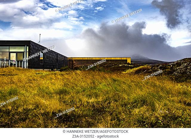 Visitors centre of Þingvellir National Park, Southwest Iceland