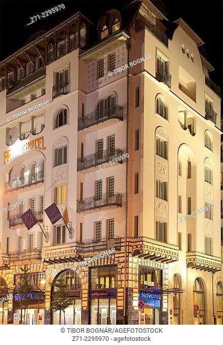 Hungary, Budapest, Palace Hotel, Novotel,