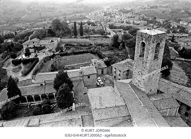 Village and Countryside, San Gimignano, Italy