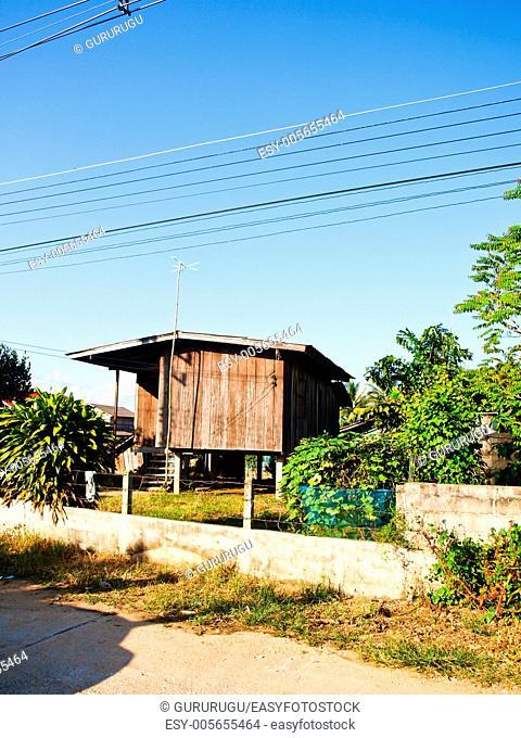 A Northern Thai house in Mae Suay, Chiang Rai, Thailand