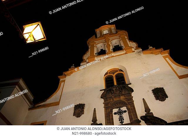 Nueva Iglesia de Santa. Cruz, finished in 1728 . Santa Cruz Quarter, Seville, Andalucia, Spain, Europe