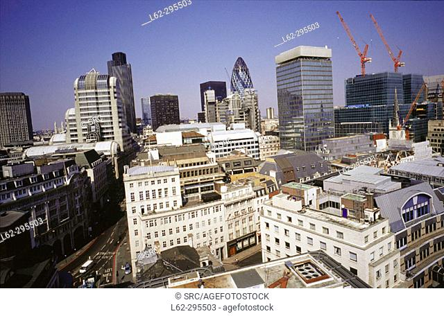 The City. London. England