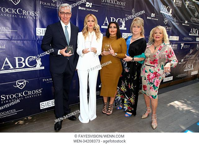 The ABCs Annual Mother's Day Luncheon Featuring: Dr. Drew, Rachel Zoe, Mercedes Javid, Gloria Gebbia, Beverly Cohen Where: Los Angeles, California